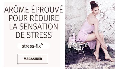 Cliquez sur le bouton Magasiner pour voir les soins du corps stress-fix pour les mains