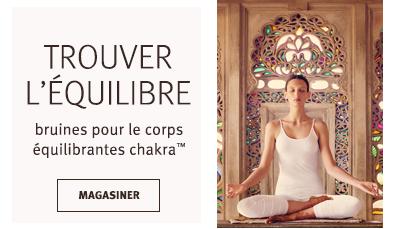 Cliquezsur le bouton Magasiner pour voir lesbruines équilibrantes pour le corps chakra