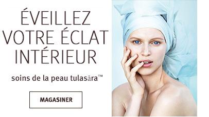 Cliquezsur le bouton Magasiner pour voir les soins de la peautulasara