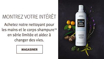Cliquez sur le bouton «Magasiner» pour trouver le nettoyant pour les mains et le corps shampure en série limitée