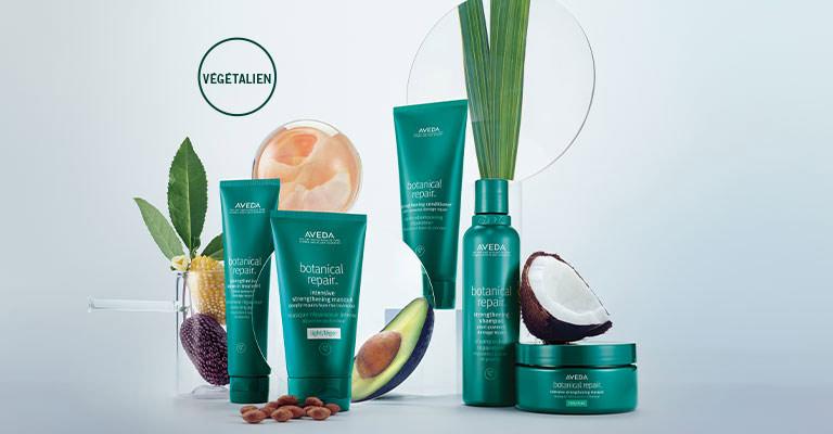 Voir le traitement riche en plantes pour fortifier et réparer les cheveux abîmés.